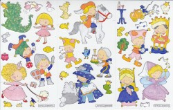 In the castle (foil stickers)