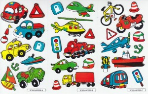 Vehicle foil stickers