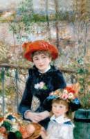 Two Sisters by Auguste Renoire