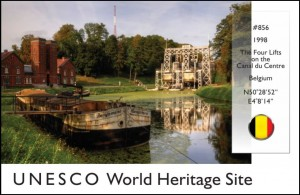 UNESCO - Lifts on Canal du Centre (Belgium)