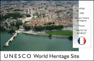 UNESCO - Historic Centre of Avignon (France)