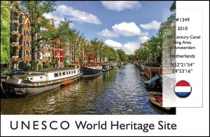 UNESCO - Amsterdam Canals (Netherlands)