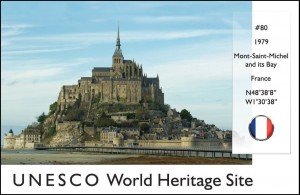 UNESCO - Mont-Saint-Michel (France)