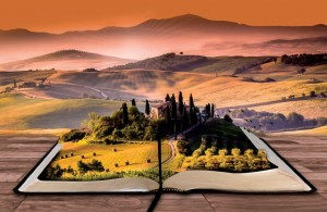 Tuscan Stories Postcard