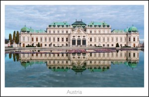 The Belvedere in Vienna