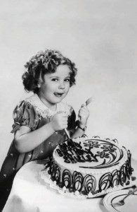 Shirley Temple Postcard