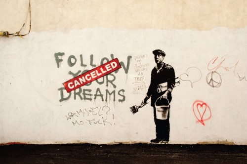 Banksy by Tom Thai (CC Licence)